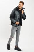 Оптом Куртка демисезонная 3 в 1серого цвета 93213Sr в Екатеринбурге, фото 2