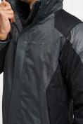 Оптом Куртка демисезонная 3 в 1серого цвета 93213Sr в Екатеринбурге, фото 14