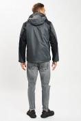Оптом Куртка демисезонная 3 в 1серого цвета 93213Sr в Екатеринбурге, фото 4