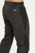Оптом Спортивные брюки Valianly мужские цвета хаки 93230Kh в Екатеринбурге, фото 6