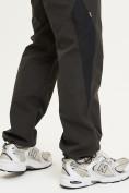 Оптом Спортивные брюки Valianly мужские цвета хаки 93230Kh в Екатеринбурге, фото 7