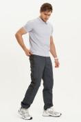 Оптом Спортивные брюки Valianly мужские темно-синего цвета 93230TS в Екатеринбурге, фото 10
