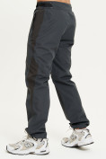 Оптом Спортивные брюки Valianly мужские темно-синего цвета 93230TS в Екатеринбурге, фото 3