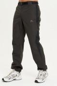 Оптом Спортивные брюки Valianly мужские цвета хаки 93230Kh в Екатеринбурге, фото 2