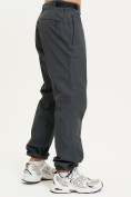 Оптом Спортивные брюки Valianly мужские темно-синего цвета 93231TS в Екатеринбурге, фото 4