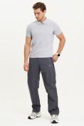 Оптом Спортивные брюки Valianly мужские темно-синего цвета 93232TS, фото 10
