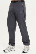 Оптом Спортивные брюки Valianly мужские темно-синего цвета 93232TS, фото 2