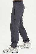 Оптом Спортивные брюки Valianly мужские темно-синего цвета 93232TS, фото 3