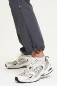 Оптом Спортивные брюки Valianly мужские темно-синего цвета 93232TS, фото 8