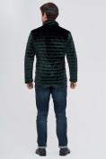 Оптом Куртка велюровая классическая Valianly темно-зеленого цвета 93352TZ в Екатеринбурге, фото 4