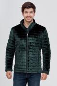 Оптом Куртка велюровая классическая Valianly темно-зеленого цвета 93352TZ в Екатеринбурге, фото 5