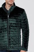 Оптом Куртка велюровая классическая Valianly темно-зеленого цвета 93352TZ в Екатеринбурге, фото 6