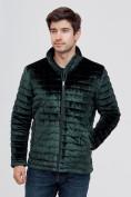 Оптом Куртка велюровая классическая Valianly темно-зеленого цвета 93352TZ в Екатеринбурге, фото 7