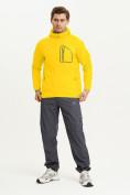 Оптом Ветровка спортивная Valianly мужская желтого цвета 93419J в Екатеринбурге, фото 7