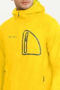 Оптом Ветровка спортивная Valianly мужская желтого цвета 93419J в Екатеринбурге, фото 5