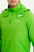 Оптом Анорак ветровка Valianly мужская зеленого цвета 93430Z в Казани, фото 5