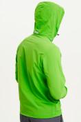 Оптом Анорак ветровка Valianly мужская зеленого цвета 93430Z в Казани, фото 3