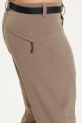 Оптом Спортивные брюки Valianly мужские коричневого цвета 93434K в Екатеринбурге, фото 4