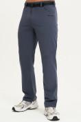 Оптом Спортивные брюки Valianly мужские темно-синего цвета 93434TS в Казани, фото 2