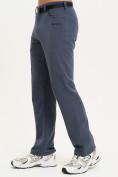Оптом Спортивные брюки Valianly мужские темно-синего цвета 93434TS в Казани, фото 3