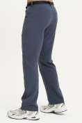 Оптом Спортивные брюки Valianly мужские темно-синего цвета 93434TS в Казани, фото 4
