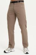 Оптом Спортивные брюки Valianly мужские коричневого цвета 93434K в Екатеринбурге