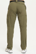 Оптом Спортивные брюки Valianly мужские хаки цвета 93435Kh в Екатеринбурге, фото 5