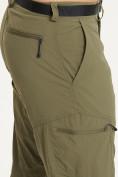 Оптом Спортивные брюки Valianly мужские хаки цвета 93435Kh в Екатеринбурге, фото 6