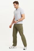 Оптом Спортивные брюки Valianly мужские хаки цвета 93435Kh в Екатеринбурге, фото 12