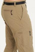 Оптом Спортивные брюки Valianly мужские бежевого цвета 93435B в Екатеринбурге, фото 5