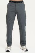 Оптом Спортивные брюки Valianly мужские темно-синего цвета 93435TS в Казани