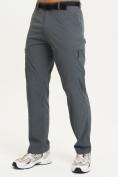 Оптом Спортивные брюки Valianly мужские темно-синего цвета 93435TS в Казани, фото 2