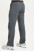 Оптом Спортивные брюки Valianly мужские темно-синего цвета 93435TS в Казани, фото 4
