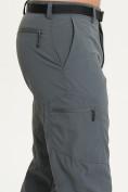 Оптом Спортивные брюки Valianly мужские темно-синего цвета 93435TS в Казани, фото 6