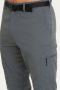 Оптом Спортивные брюки Valianly мужские темно-синего цвета 93435TS в Казани, фото 7