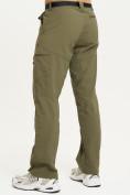 Оптом Спортивные брюки Valianly мужские хаки цвета 93435Kh в Екатеринбурге, фото 4