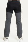 Оптом Спортивные брюки и шорты Valianly мужские темно-синего цвета 93438TS, фото 4