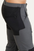 Оптом Спортивные брюки и шорты Valianly мужские темно-синего цвета 93438TS, фото 5