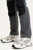 Оптом Спортивные брюки и шорты Valianly мужские темно-синего цвета 93438TS, фото 8