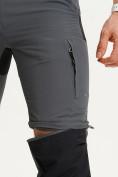 Оптом Спортивные брюки и шорты Valianly мужские темно-синего цвета 93438TS, фото 9