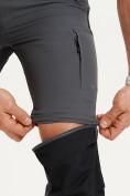 Оптом Спортивные брюки и шорты Valianly мужские темно-синего цвета 93438TS, фото 10