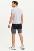 Оптом Спортивные брюки и шорты Valianly мужские темно-синего цвета 93438TS, фото 21