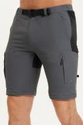 Оптом Спортивные брюки и шорты Valianly мужские темно-синего цвета 93438TS, фото 12