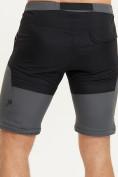 Оптом Спортивные брюки и шорты Valianly мужские темно-синего цвета 93438TS, фото 13