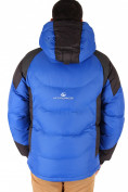 Оптом Куртка зимняя мужская синего цвета 9406S в Казани, фото 3