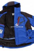 Оптом Куртка зимняя мужская синего цвета 9406S в Казани, фото 4
