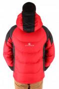 Оптом Куртка зимняя мужская красного цвета 9406Kr в Казани, фото 2