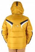 Оптом Куртка зимняя мужская горчичного цвета 9440G, фото 2
