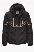 Оптом Куртка зимняя мужская черного цвета 9449Ch в Нижнем Новгороде