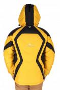 Оптом Куртка зимняя мужская желтого цвета 9455J в Екатеринбурге, фото 2